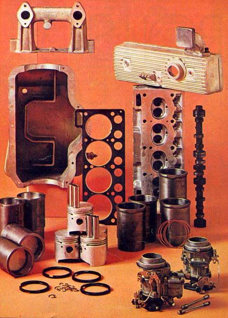 Reportagem da Quatro Rodas dos anos 70